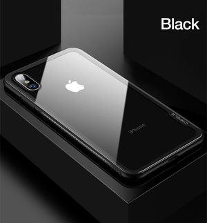 Lux Glass Case for iPhone X (With Screen Protector!)