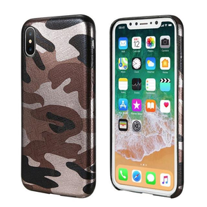 Camouflage Cover for iPhone X