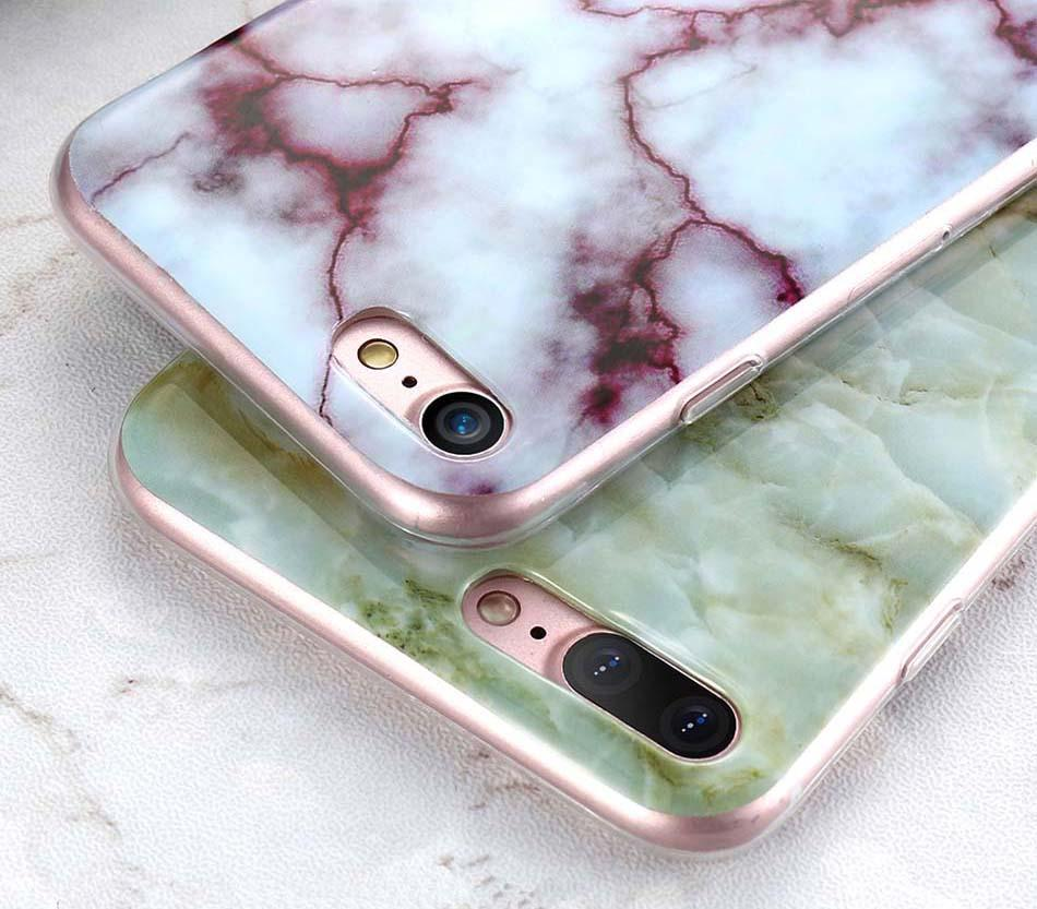 Luxe Marble Case for iPhone 8/8 Plus