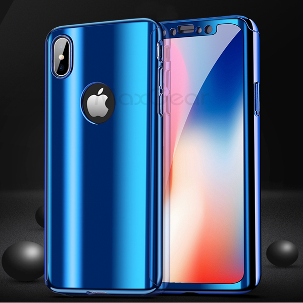 Pro 360 Chrome Case for iPhone X