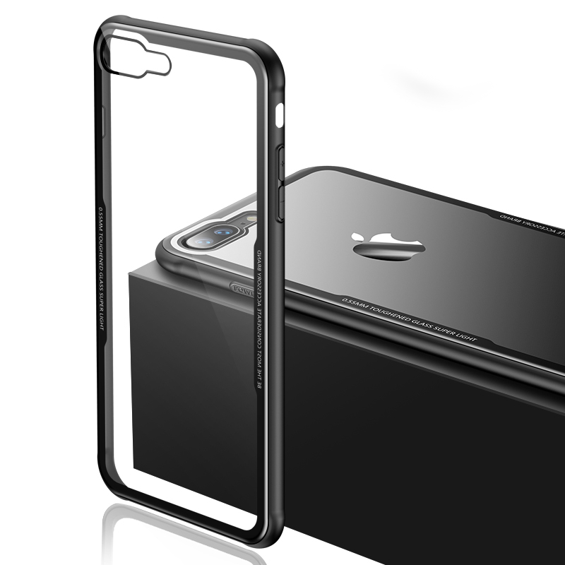 Lux Glass Case for iPhone 7/7 Plus (With Screen Protector!)
