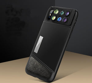 6-in-1 Lens Case for iPhone X