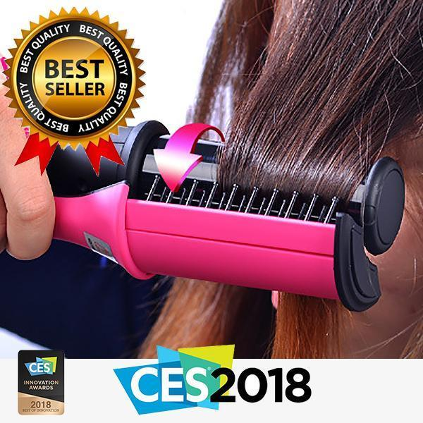 360° Wet To Dry Rotating Styling Iron