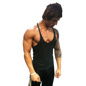 Tank Top Singlet Sleeveless Stringer