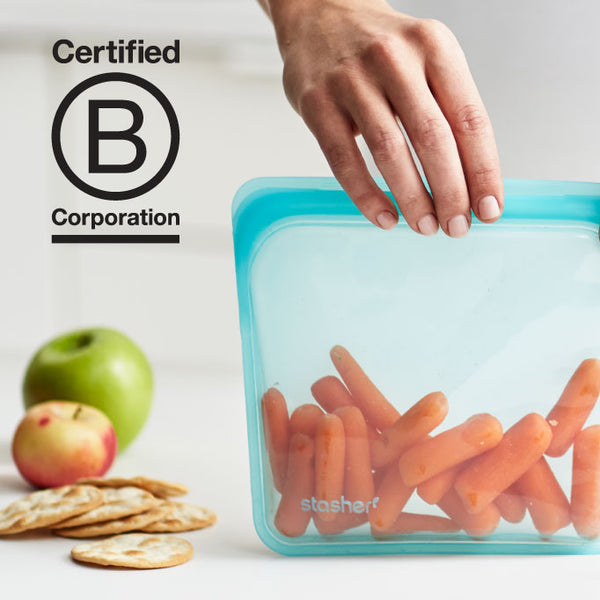 Stasher certified as a b corp!