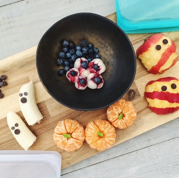 Easy and healthy Halloween snacks