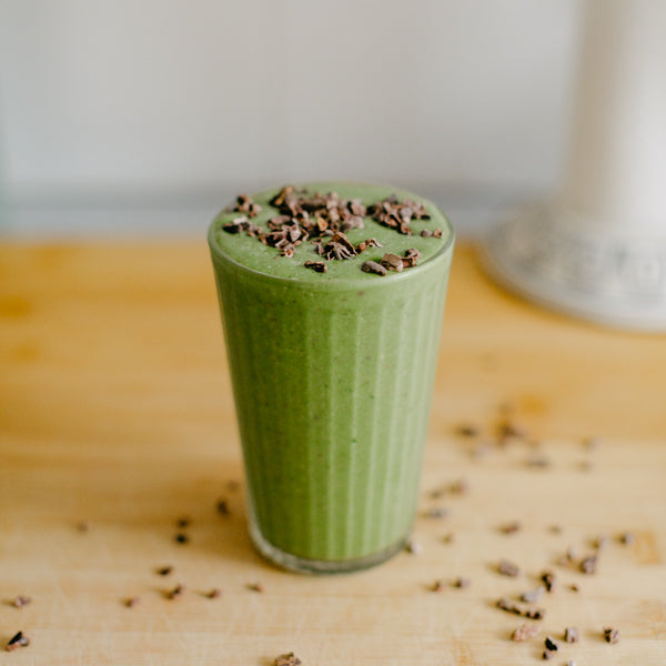 gut healing mint-chip smoothie recipe