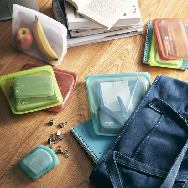 All the Ways a Stasher Starter Kit Makes Your Back to School Routines a Breeze