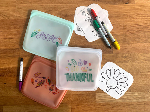 Let The Kids Go Wild This Thanksgiving With This Adorable Custom Stasher Stencil