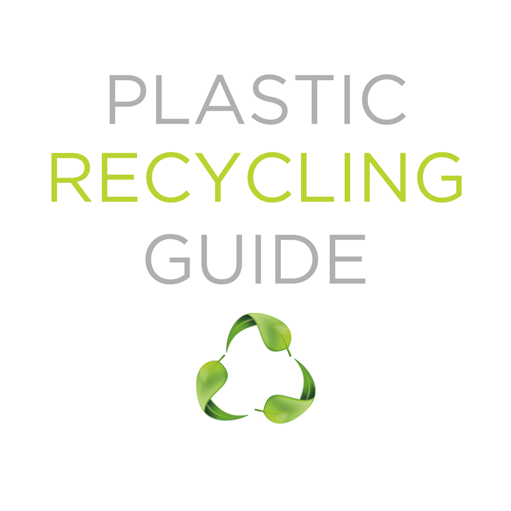 plastic recycling guide by stasher