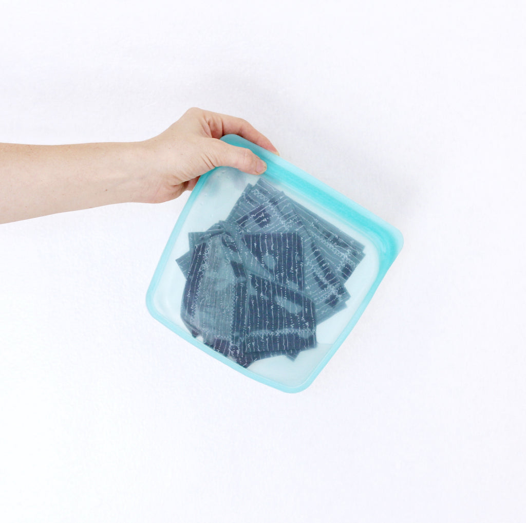 How to make your own reusable baby wipes