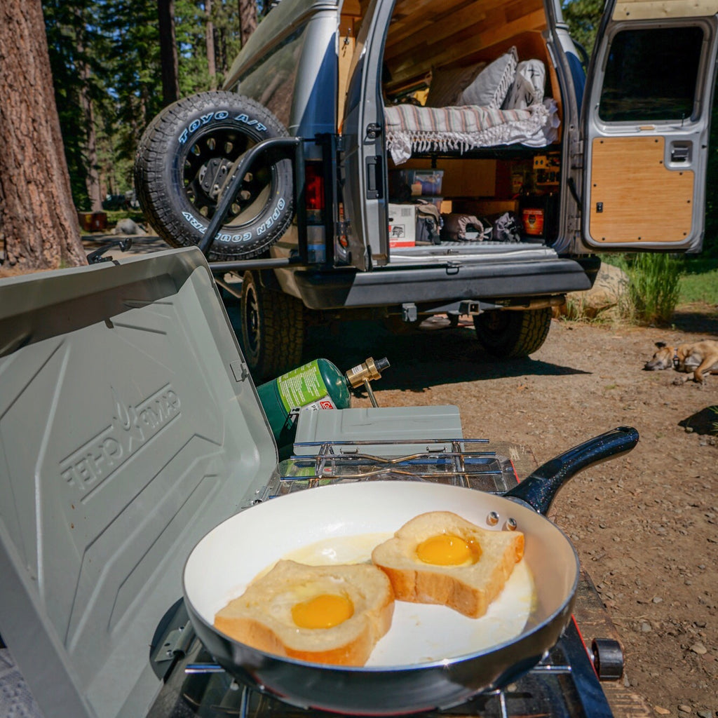 Plastic-free camping