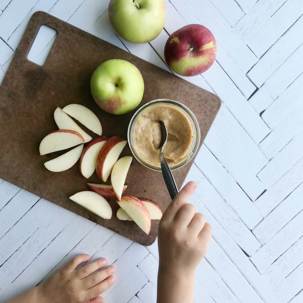 apples and date caramel - stasher bag