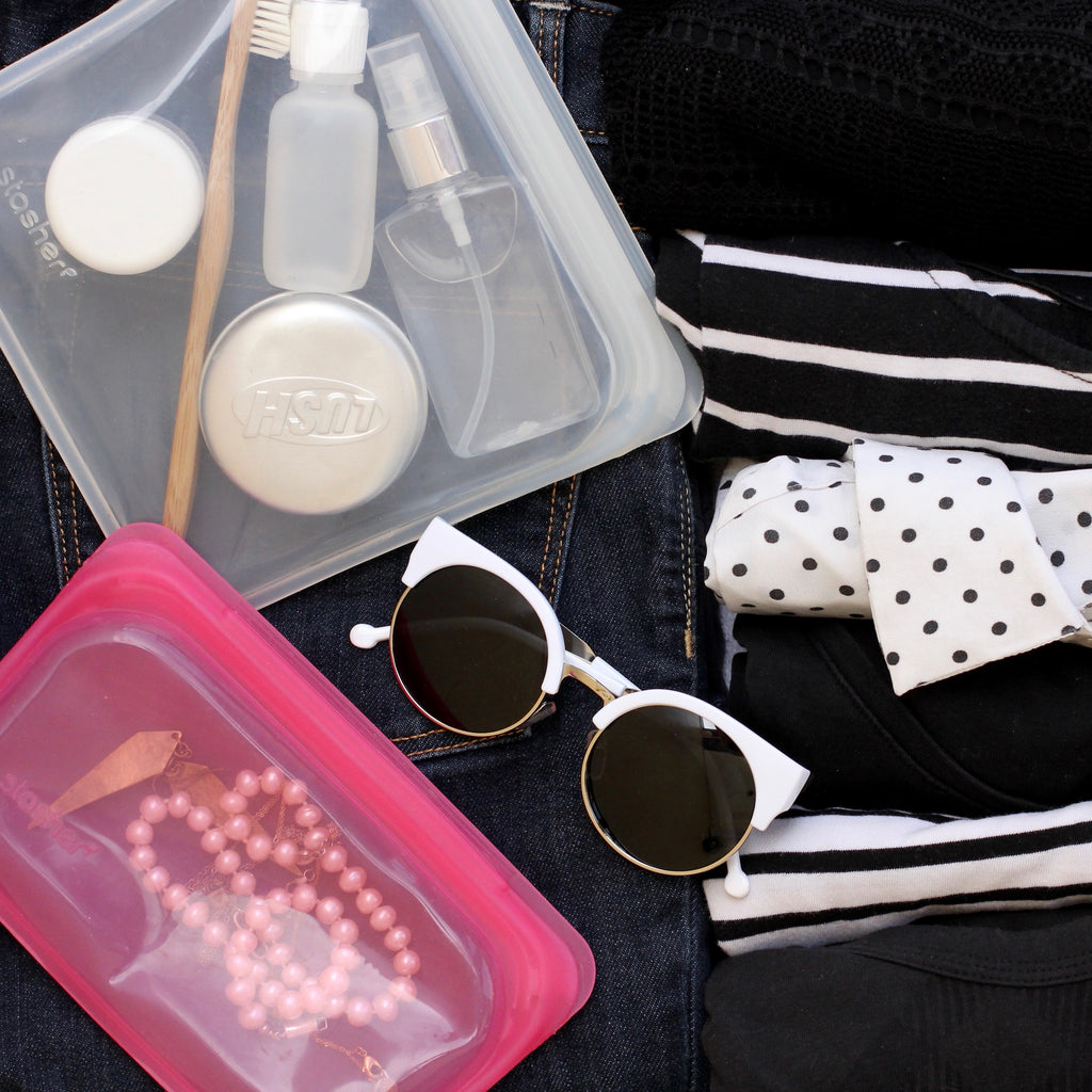 zero waste traveling tips