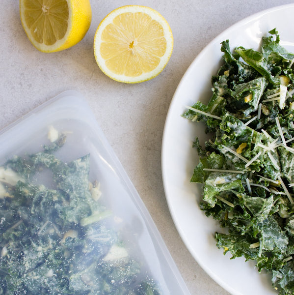 Simple Kale Salad with Tahini Dressing Recipe