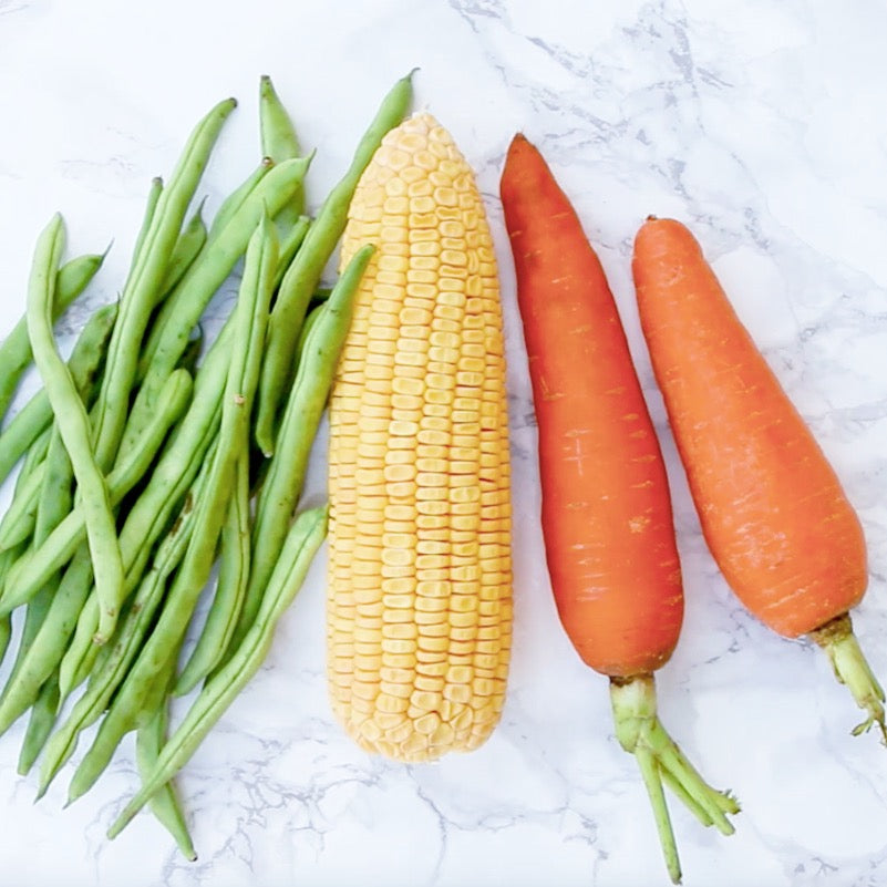 veggies to freeze