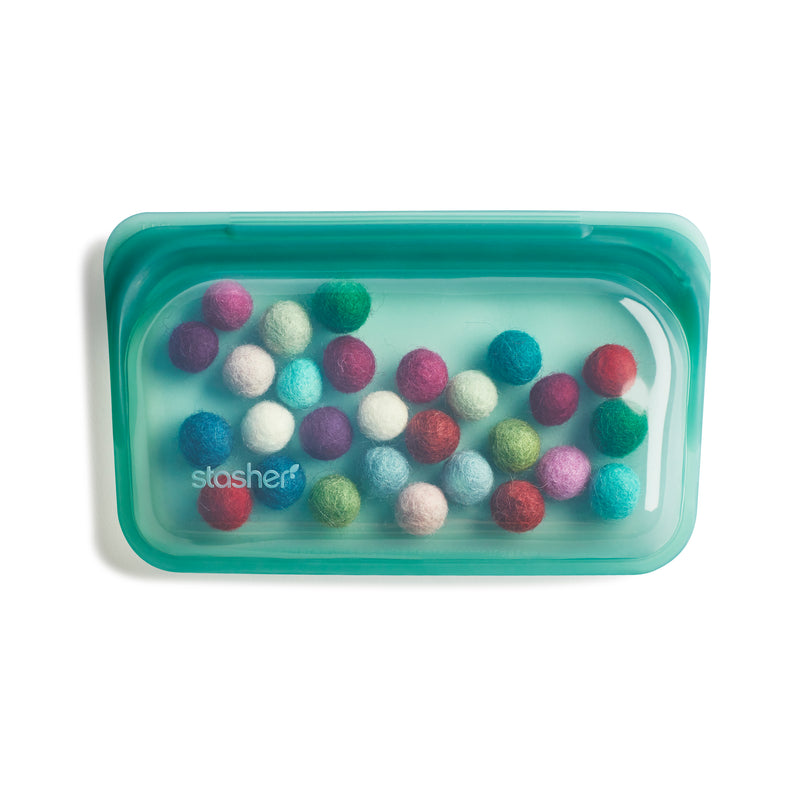 reusable silicone snack bundle