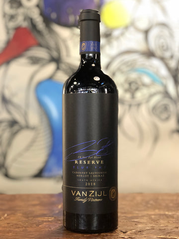 FB Van Zijl Family Vintners Blue Ink Reserve 2018 (3 Grapes)