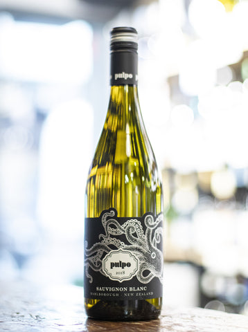 Pulpo New Zealand Marlborough Sauvignon Blanc 2018