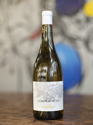 Taken Wine Complicated Chardonnay Sonoma County 2016
