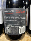 Taken Wine Complicated Red Blend Central Coast 2014