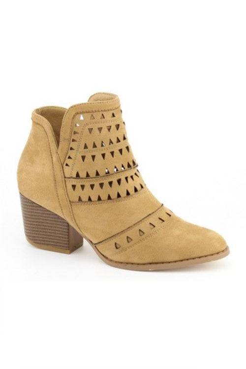The Jessica Booties Biege