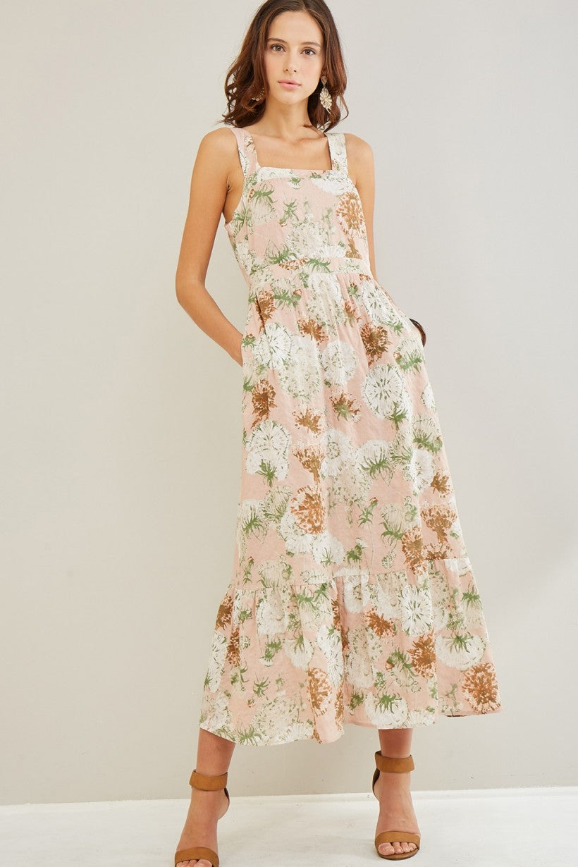 The Bloom Blush Floral Dress