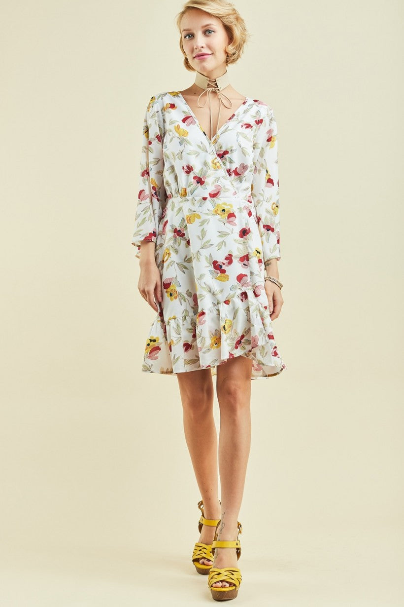 Instant Bliss Floral Dress
