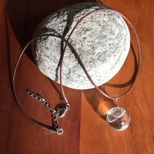 Dandelion Seed Necklace, goods - Cedarberry