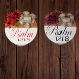 """Psalm 121:8"" Indoor Wood Sign"