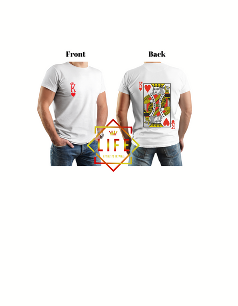 "Men ""King of Hearts"" T-shirt"