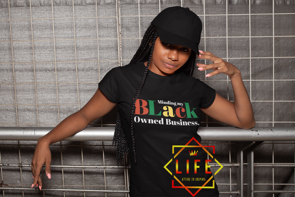 "Ladies ""Black Owned Business"" Shirt"