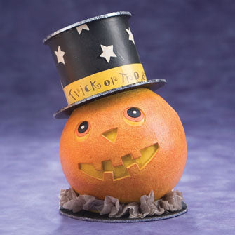 Pumpkin with Top Hat 16166