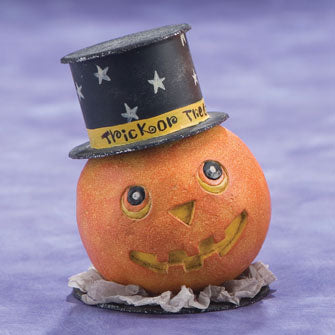 Pumpkin with Top Hat Figure 16171