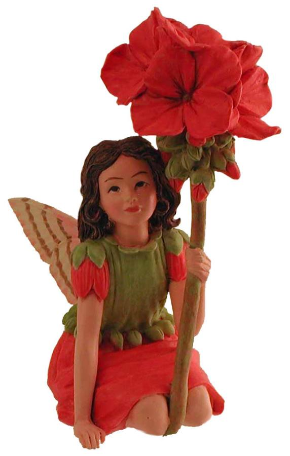 Geranium Fairy with Flower 86992 (boxed) (RETIRED but in stock)