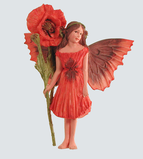 Poppy Fairy with Flower 86910 (boxed) (RETIRED but in stock)