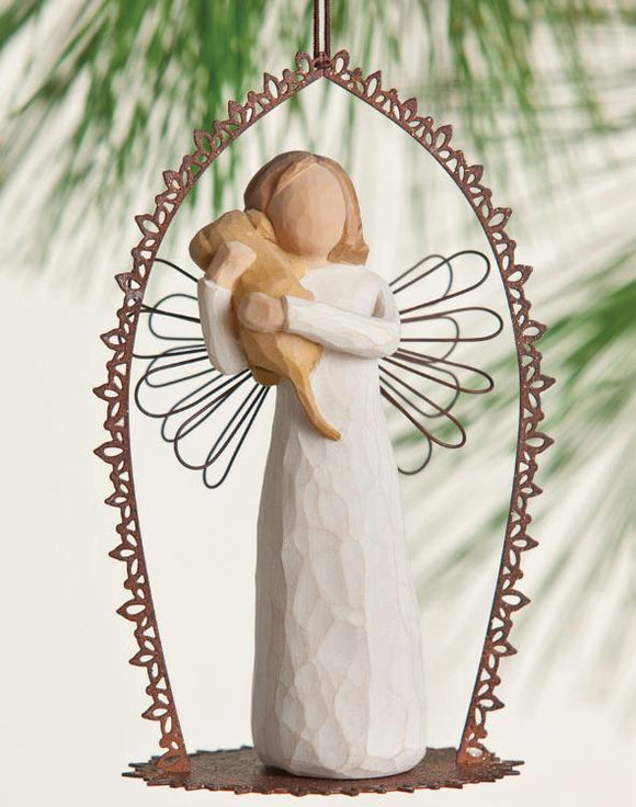 Angel of Friendship Trellis Ornament 26257