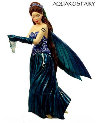 Zodiac Aquarius Fairy Ornament 88202