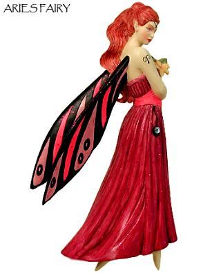 Zodiac Aries Fairy Ornament 88204