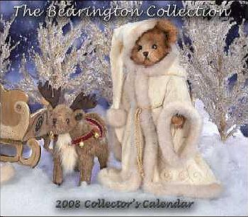 2008 Bearington Calendar 986101 COLLECTOR'S ITEM
