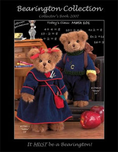 Bearington Collector's Book for Fall and Winter 2007-2008