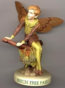 Beech Tree Fairy with Base 88970 (boxed) (RETIRED but in stock)