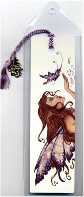 Lavender Butterfly Bookmark