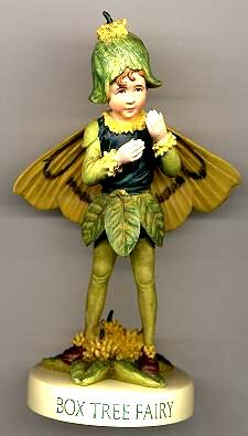 Box Tree Fairy with Base 88916 (boxed) (RETIRED but in stock)
