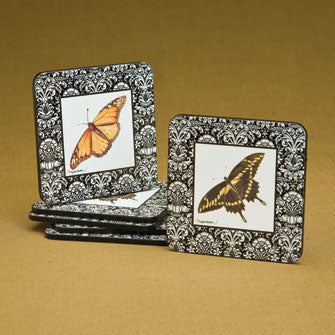 Butterfly Coasters - Set of 6 Assorted 16657