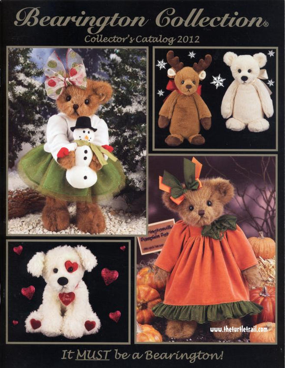Bearington Collector's Book for Fall and Winter 2012-2013