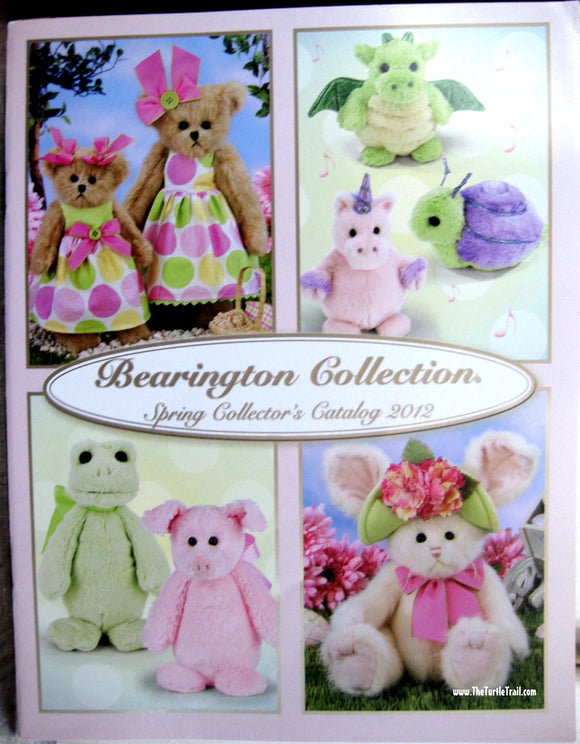 Bearington Collector's Book for Spring 2012