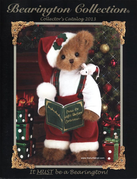 Bearington Collector's Book for FALL and WINTER 2013-14