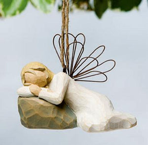 Dreaming Angel Ornament 26179  (RETIRED but in stock)
