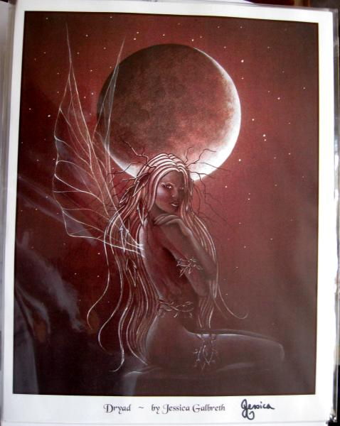 Dryad Print - SIGNED by Jessica